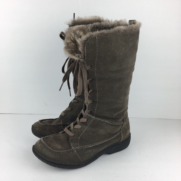 SE Boutique by Sam Edelman Designs Shoes - Sam Edelman Boutique Tall Lace Up Winter Boots